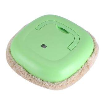 Multi-function USB Rechargeable Smart Cleaning Machine HouseholdFloor Sweeping Mop Robot Green - 3