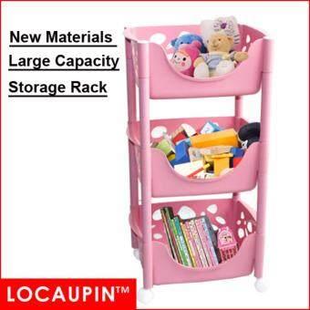Multi-Purpose Layer Home Storage Rack Kitchen Storage Rack office Rack Kitchen Shelf - 3Layer