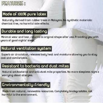 MYLATEX Natural Latex Bolster HB709 - 3