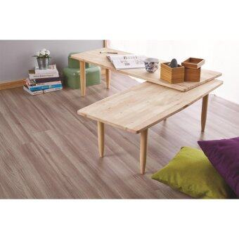 natural signature 5104 twins 2 in 1 coffee table (natural