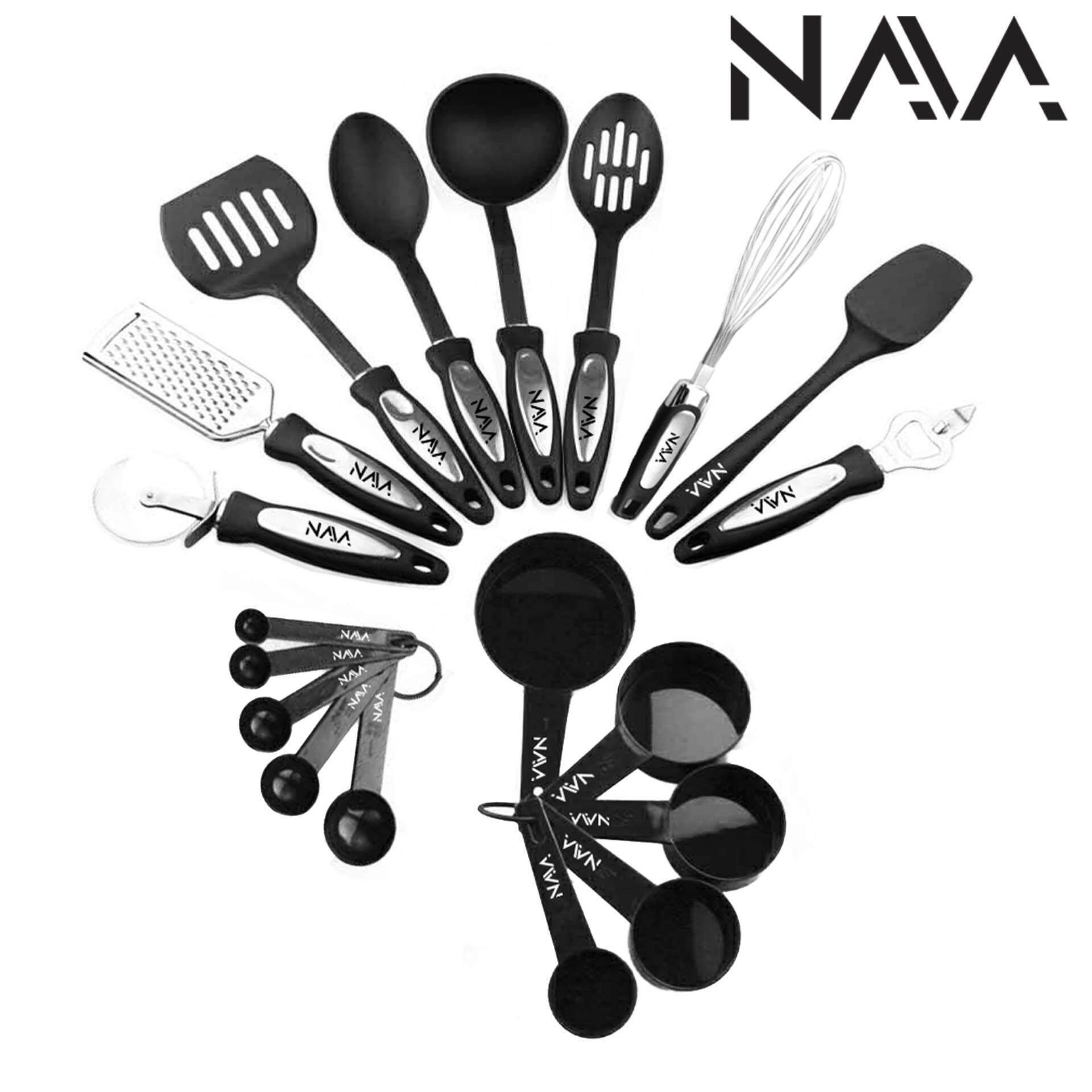 NaVa 19 PCS Tip Top Kitchen Cooking Ladle Tools And Gadget Full Set |  Lazada Malaysia