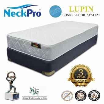 "NeckPro 8"" Super Single Bonnell Spring Mattress (Lupin)"