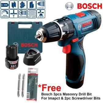 [NEW] Bosch GSB120-LI Cordless Impact Drill/Screwdriver with Free Drill Bit (6 Month Warranty)