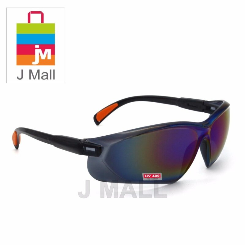 Buy New Safety Eye Protection PPE Glasses Goggle Spec (208-4) Rainbow Malaysia