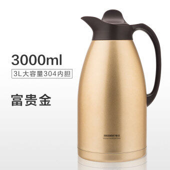 Harga NEWAIR home insulation pot water pot hot water bottle insulation bottle thermos cup outdoor 304 stainless steel big capacity 3L