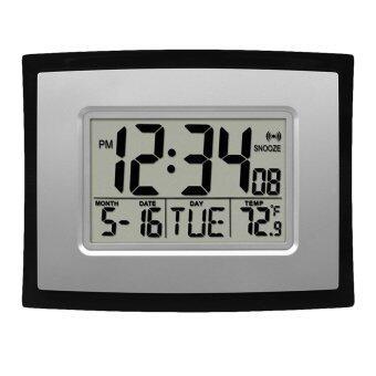 Oh Self Setting Digital Lcd Home Office Decor Wall Clock