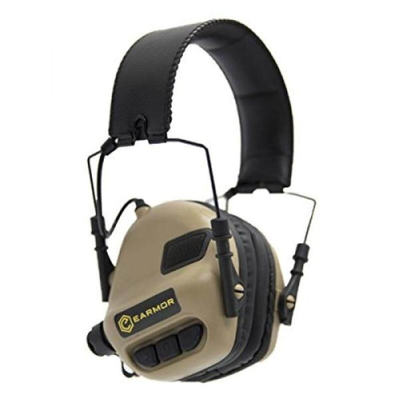Buy OPSMEN M31-V2 Sound Amplification Shooting Noise Canceling Hearing Protection Earmuff Desert Malaysia