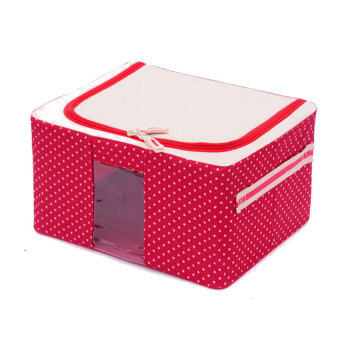 Oxford Cloth With Zipper Window Box Clothing Storage Box Red Dot  sc 1 st  Lazada & Oxford Cloth With Zipper Window Box Clothing Storage Box Red Dot ... Aboutintivar.Com