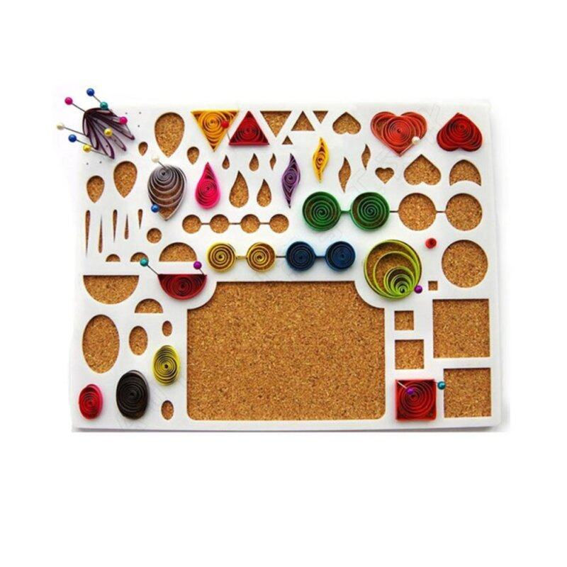 Buy Paper Quilling Template DIY Hamdmade Art Work Accessory Papercraft Tool Malaysia