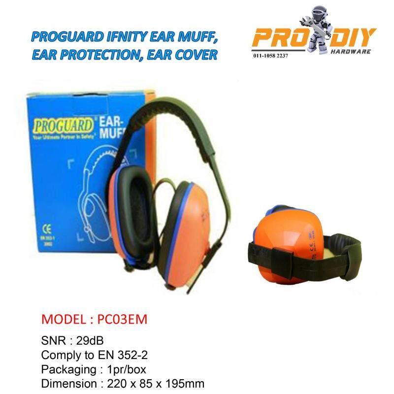 PC03EM PROGUARD INFINITY EAR MUFF, EAR PROTECTION, EAR COVER