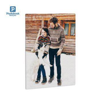 "Photobook Malaysia 8"" x 12\"" Personalised Portrait/Landscape Canvas Air"