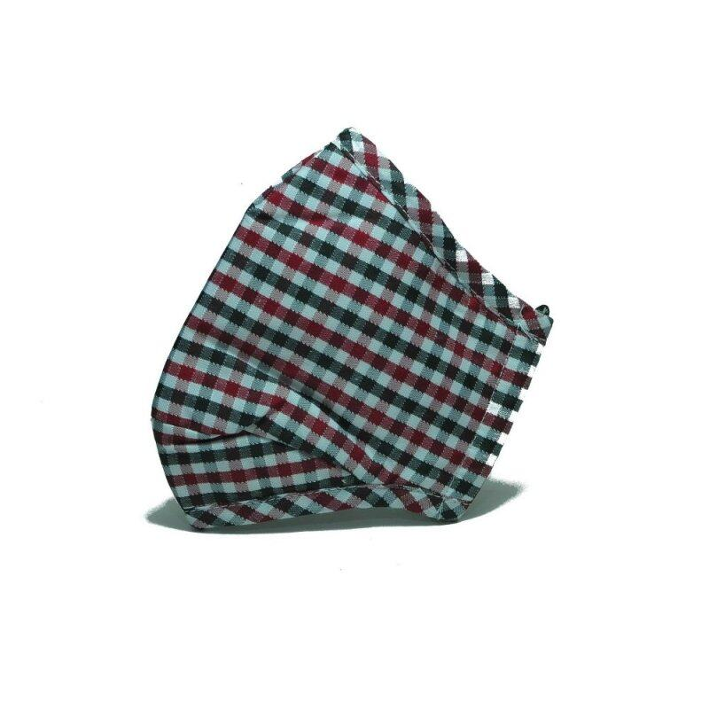 PM2.5 Adult Face Mask with Filters (Checker design)