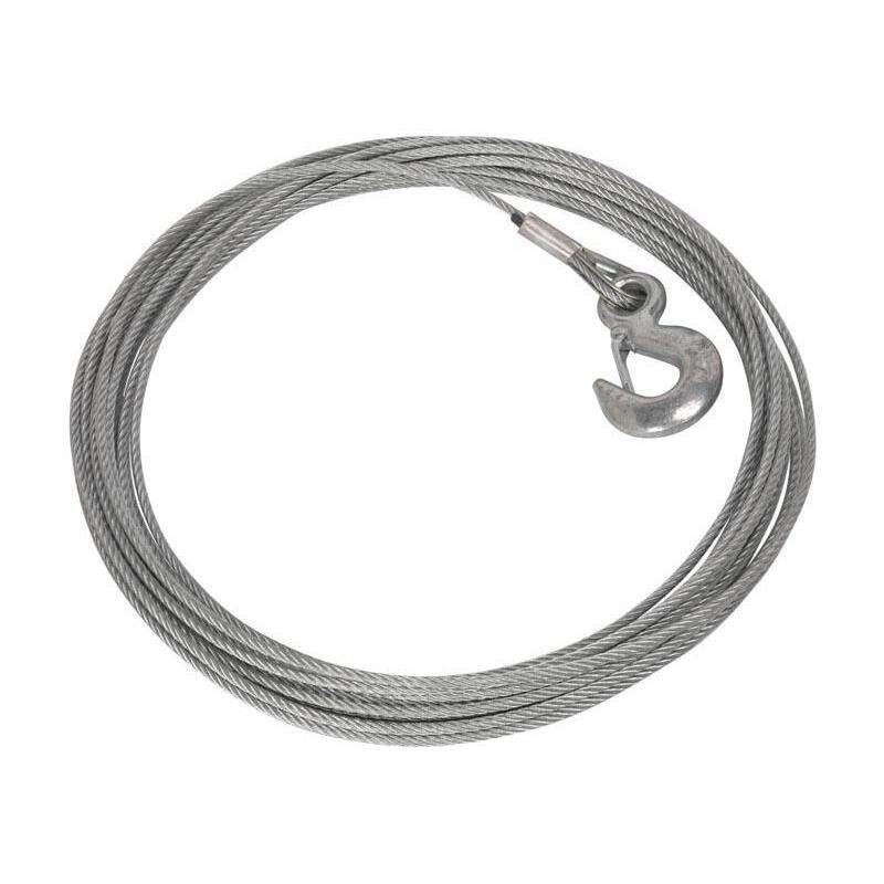 Buy (Pre-order) Sealey Wire Rope with Hook (Ø5.4mm x 15.2mtr) for PW1360 Model: PW1360.WR Malaysia
