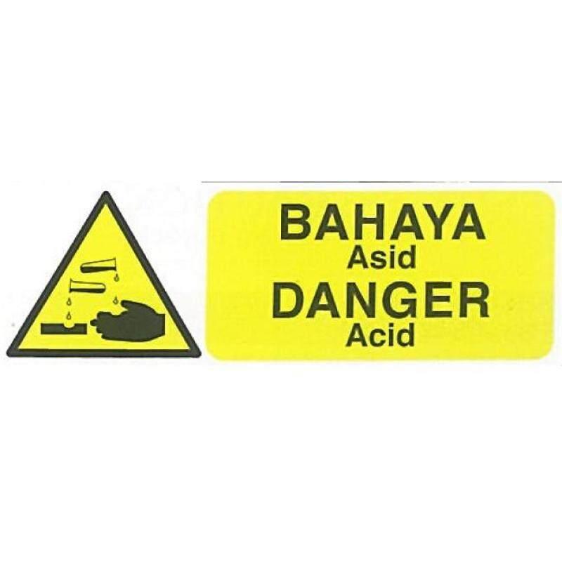 (PRE ORDER) WD1424 DANGER ACID (RIGID PLASTIC SHEET) (21 DAYS)