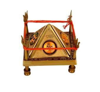 Premium Home Decor Handmade Crafts Baglamukhi Yantra - 2