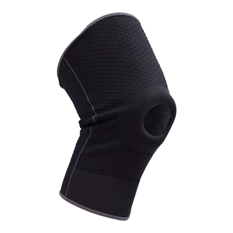 Professional features perforated collision basketball knee sweat sweat sports knee protectors (Size: M) A11YDHJ0701
