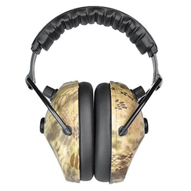 Protear Electronic Hunting/Shooting Earmuff Sound Amplification Earmuff—NRR 25dB, Snake Pattern