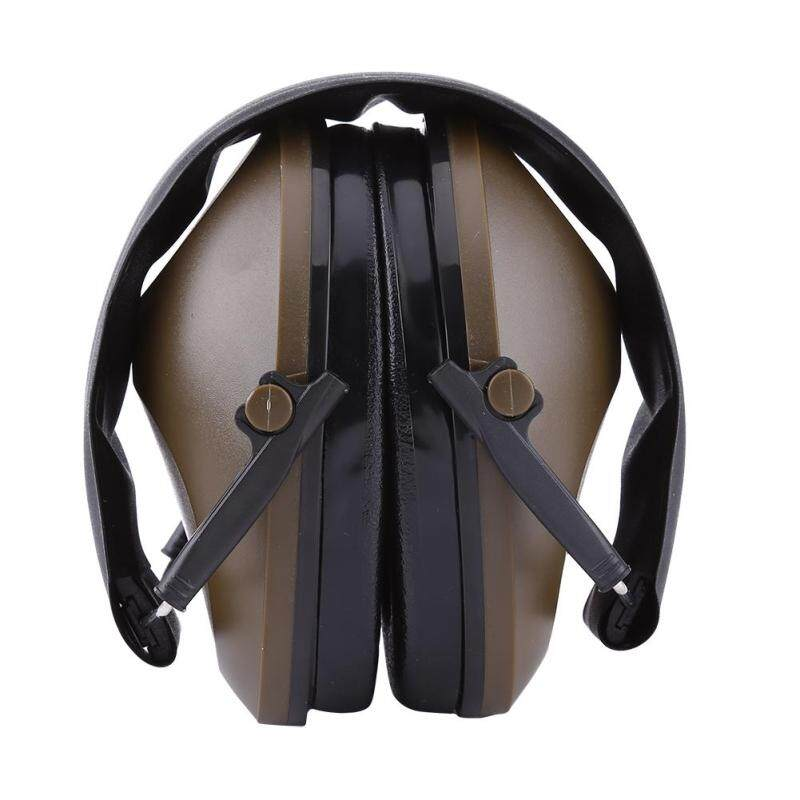 Buy Protection Noise Reduction Earmuff Ear Muff for Shooting Hunting (Brownish Green) Malaysia