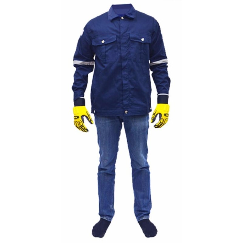 Buy QUEST Safety Reflective Workwear Jacket Navy Blue Size L Malaysia
