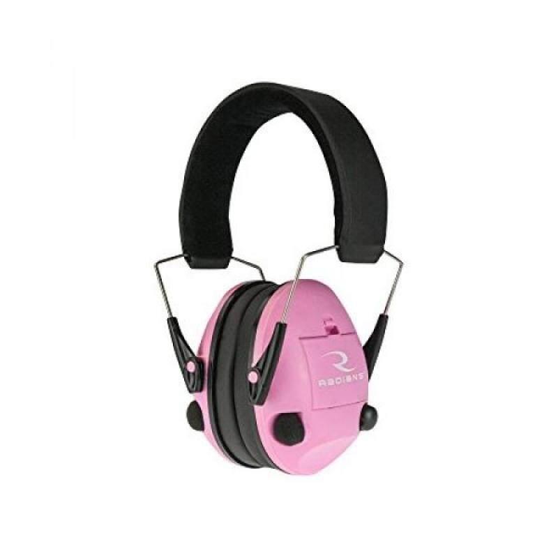 Radians TV0700CS Transverse Electronic Pink Earmuff,