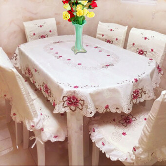 Harga Rectangular TV cabinet tablecloth Fabric