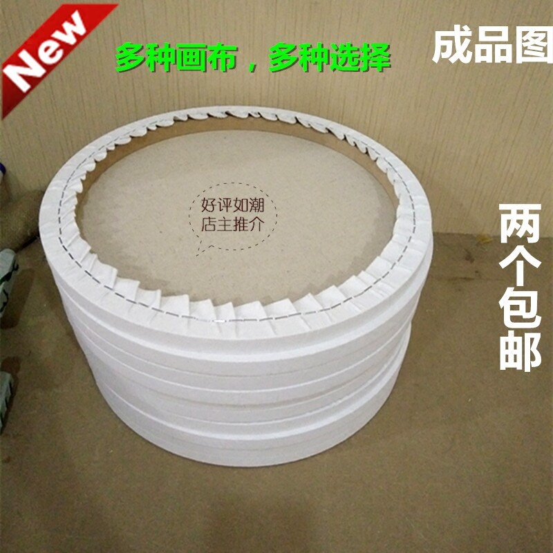 The Best Cheap Round Oil Painting cloth painting frame within the ...