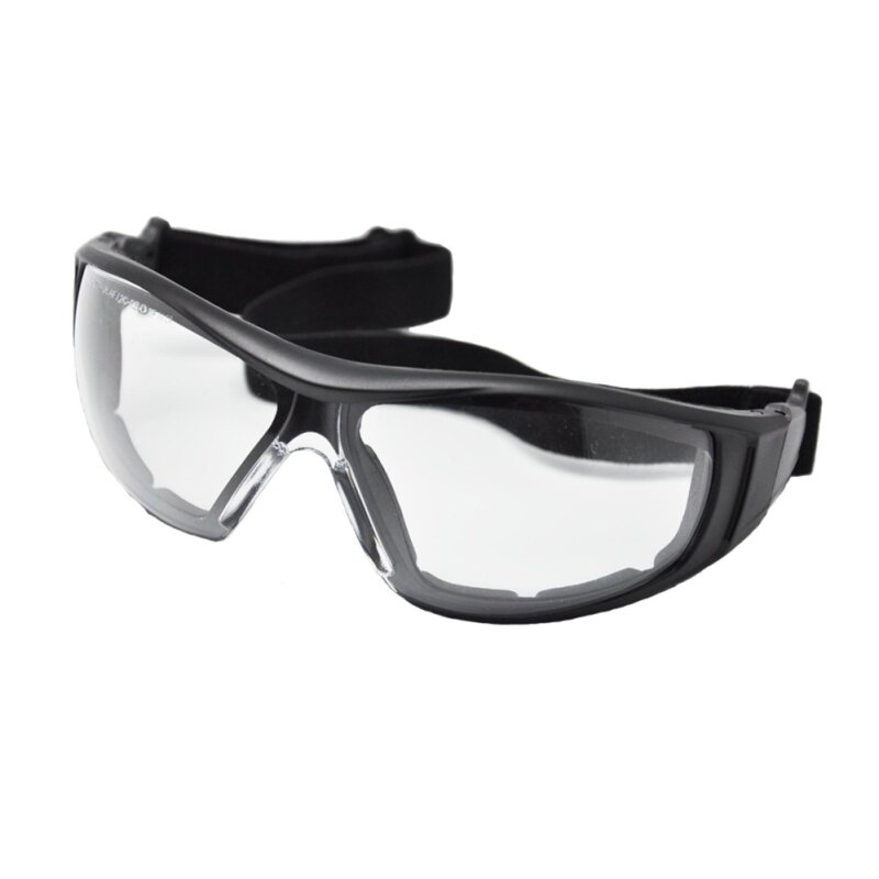 Safety eyewear, convertible to goggle