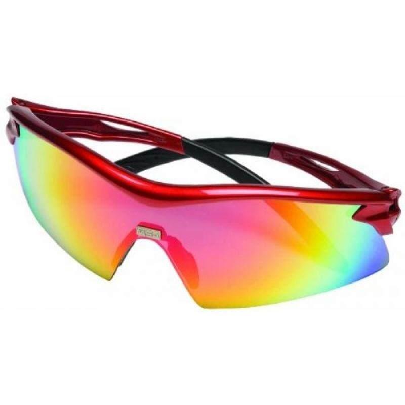 Safety Works 10105405 Safety Glasses Racer Red