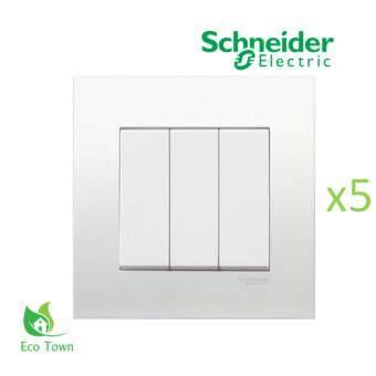 sell schneider vivace 3 gang 1 way switch kb33 1 5 pieces. Black Bedroom Furniture Sets. Home Design Ideas