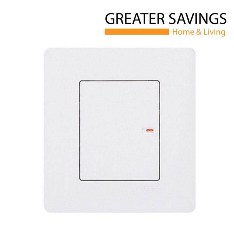 Buy Schneider Zencelo 1 Gang 2 Way Full-Flat Switch, White E8431/2 Malaysia