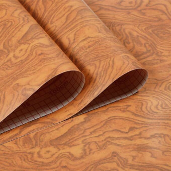 Self-adhesive waterproof furniture Refurbished wood paper