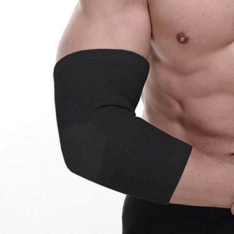Buy Senston Compression Recovery Elbow Sleeve Adjustable Elbow Brace Elbow support for Tendonitis,Arthritis,Tennis Elbow & Golf Elbow Treatment,Workout,Weight Lifting-Black M Malaysia