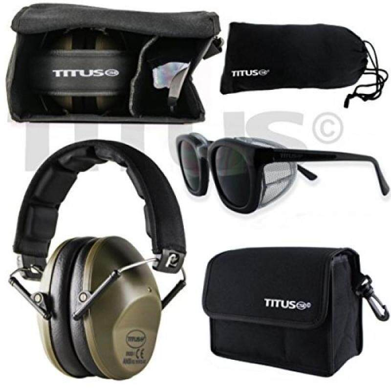 Buy [Seoul lamore]M2 Earmuff/Glasses Combo Kits (G12 Shaded - Retro Black Frame) Malaysia