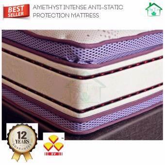"SG TAN: 3V Amethyst 16\"" KING Size Anti-Static Pocket Spring Mattress"