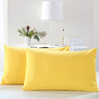 Shifei cotton solid color envelope style pillowcase cotton pillowcase