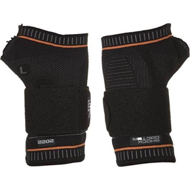 Buy Shock Doctor Ultra Compression Knit Wrist Support with Gel Support and Strap Adult Black/Grey X Left Malaysia