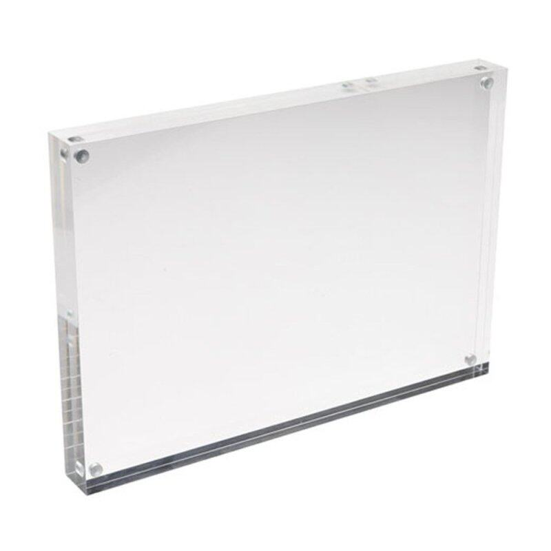 Buy Sign Holder Clear Acrylic with Magnets Malaysia