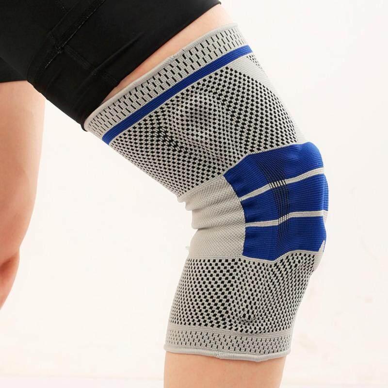 Buy Size-L Silica Gel Leg Guard Knee Patella Strap Pad Brace Protection Sport Support Malaysia