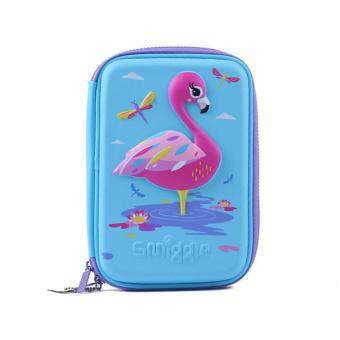 Harga Smiggle Hardtop Pencil Case - Flamingo Wild