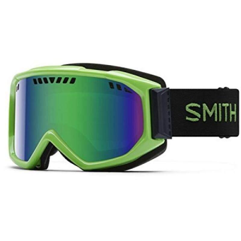 Buy Smith Optics Adult Scope Snow Goggles Reactor Frame/Green Sol-X Mirror Malaysia