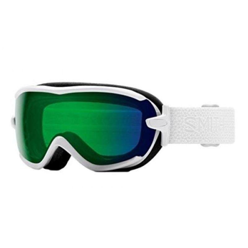 Buy Smith Optics Virtue Goggle - Womens White Mosaic Frame/ChromaPop Everyday Green Mirror Malaysia