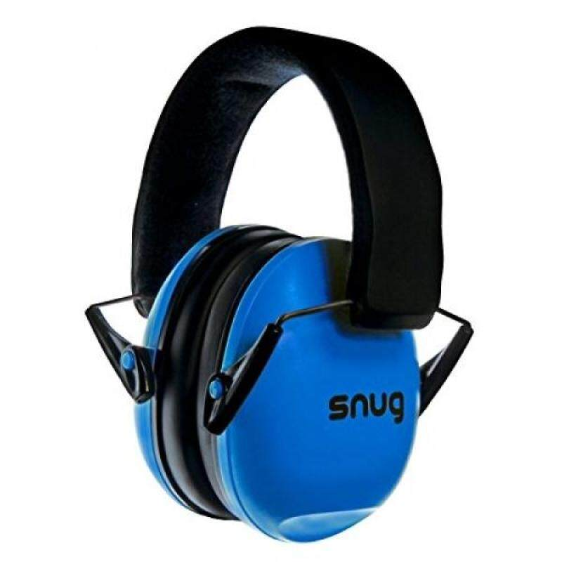 Buy Snug Kids Earmuffs / Best Hearing Protectors – Adjustable Headband Ear Defenders For Children and Adults (Original Blue) Malaysia