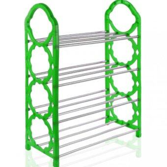 SOKANO SR001 4 Tiers Shoe Rack- Green