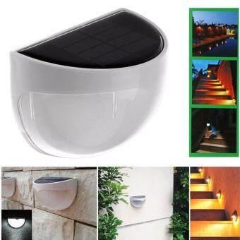 Solar Powered Wall Sensor Light Accent Lighting Waterproof 6 LEDPractical Acent Lighting 10 Packs Warm White - 2