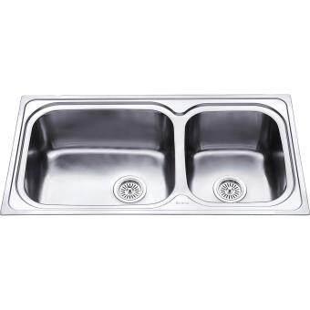 Sorento Stainless Steel Double Bowl Kitchen Sink SRTKS2025 ...
