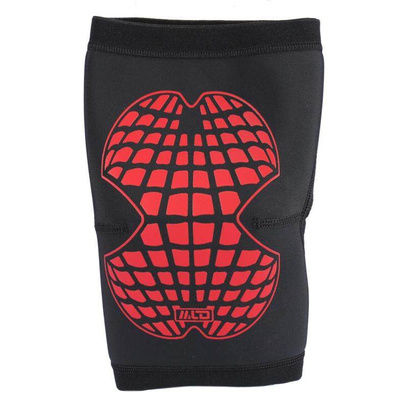 Buy Sports Training Elastic Anti-slip Protect Knee Support Brace Leg Compression Sleeves (Red M) Malaysia