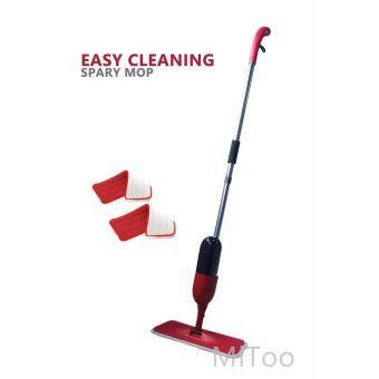 Spray Mop with Microfiber Mop and free one mop pad (RED)