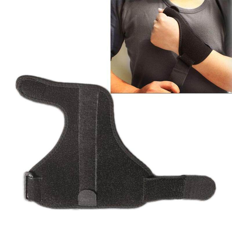 Spring Steel Thumb Wrist Sprain Protector Sports Finger Protective Case