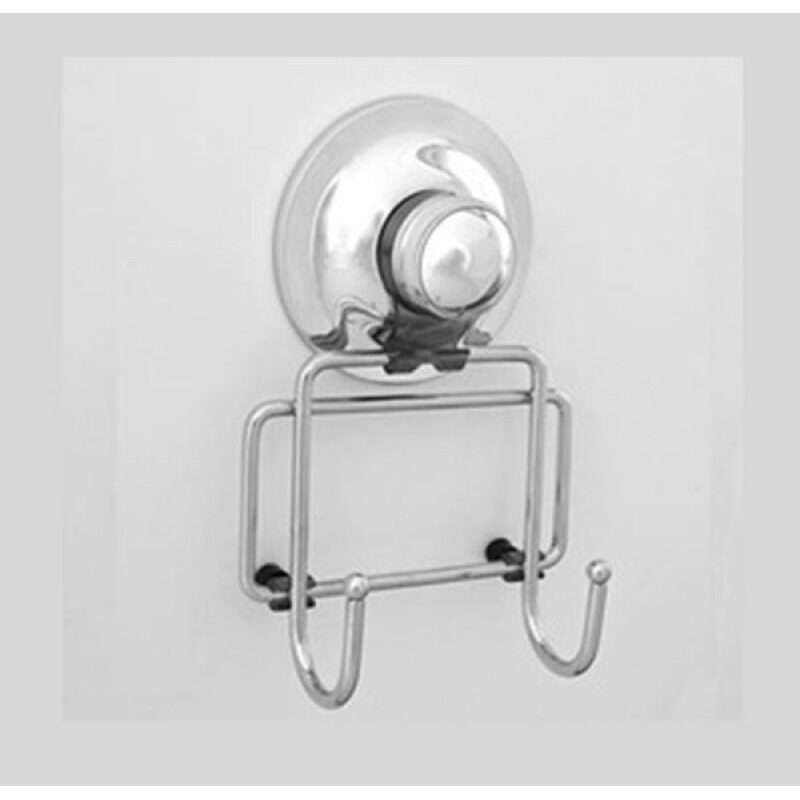 Stainless Steel Suction Double Hooks