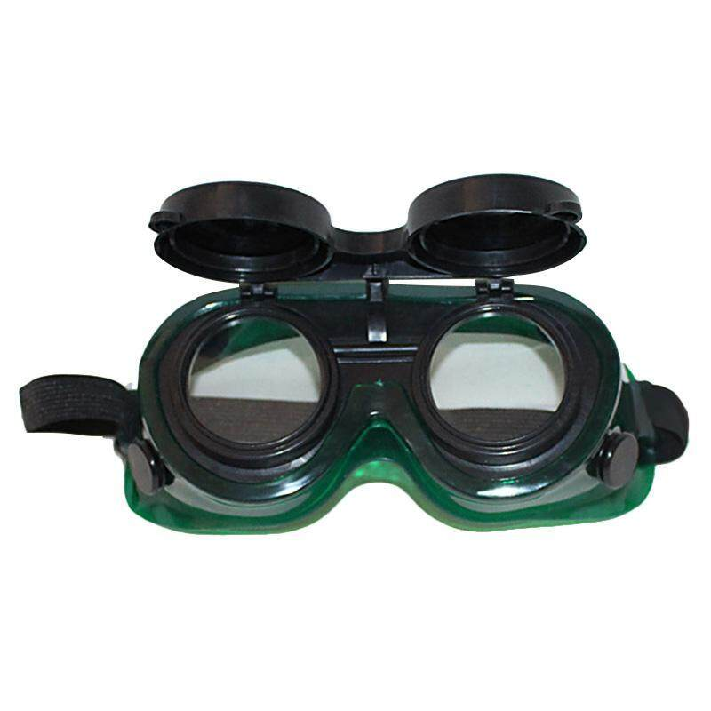 Buy Steampunk Welding Goggles Oxy Cutting Welders Safety Goggles Glasses Flip Up Clear Lenses Malaysia